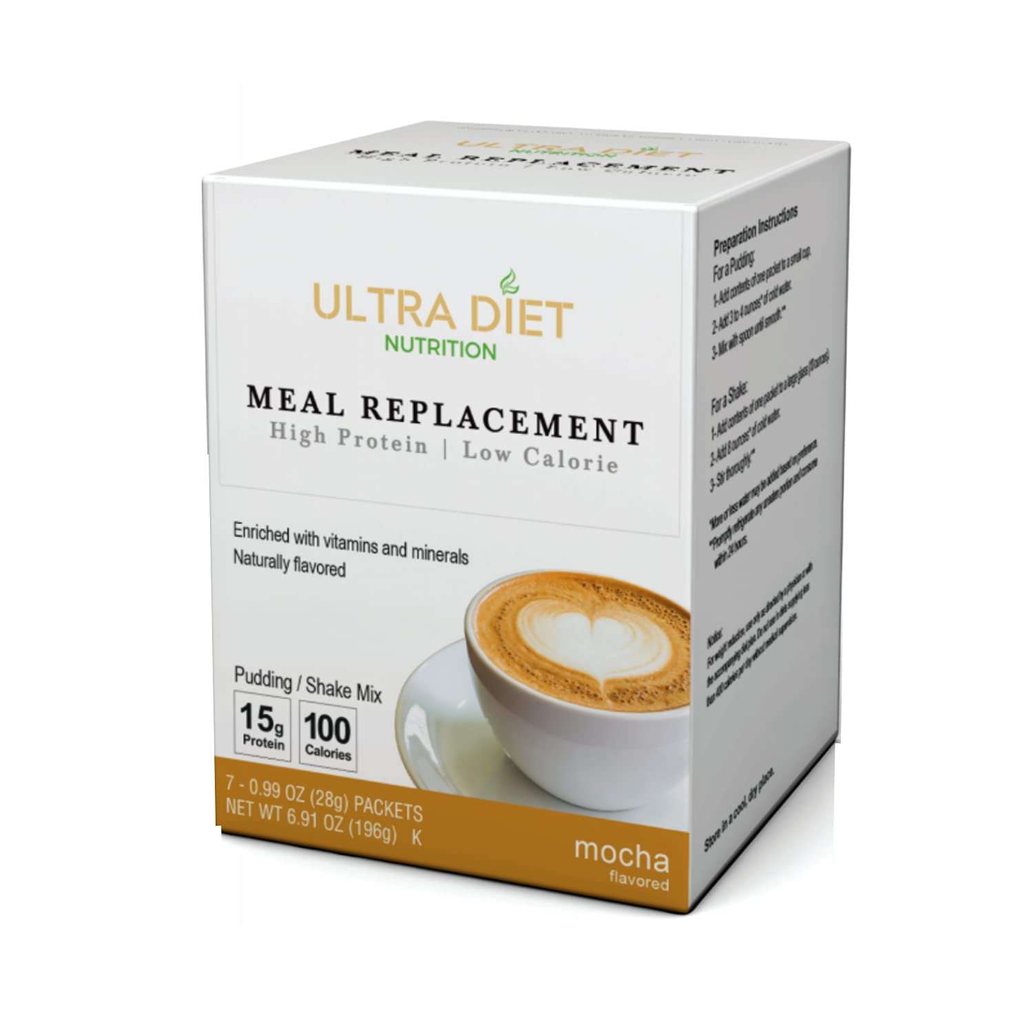 Ultra Diet High Protein Meal Replacement - Pudding Shake Japan Maker New Manufacturer OFFicial shop Fat Low