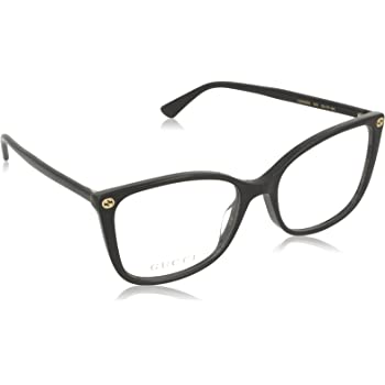Eyeglasses Gucci GG 0026 O- 001 BLACK /, 53-17-140