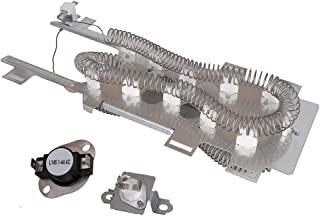 8544771 Dryer Heating Element 279973 Cycling Thermostat&Thermal Fuse Switch Kit for Whirlpool, Kenmore, Roper, Maytag, Estate, Inglis, KitchenAid, Crosley, Amana, Admiral, Magic Chef