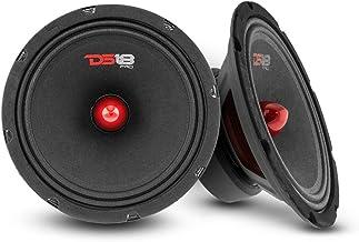 """$79 » DS18 2X PRO-GM8B Loudspeaker - 8"""", Midrange, Red Aluminum Bullet, 580W Max, 190W RMS, 8 Ohms - Premium Quality Audio Door ..."""