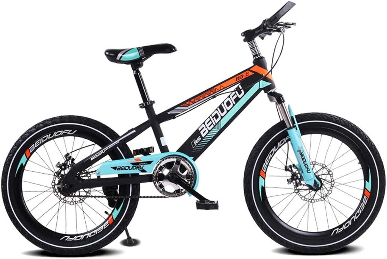 en linea SXMXO Bikes Bicicleta Infantil Infantil Infantil Velocidad única 16 Pulgadas Bicicleta Montaña Rueda De Una Pieza Freno De Disco Absorción De Golpes Bicicleta para Niños 4 Colors Disponibles,negro  Venta al por mayor barato y de alta calidad.