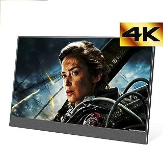 4K モバイルモニター 13.3インチ モバイルディスプレイ HDMI/Type-C/スピーカー内蔵 FHD 3840 x 2160 PCモニター サブモニター ゲーミングモニタ セキュリティーモニター …