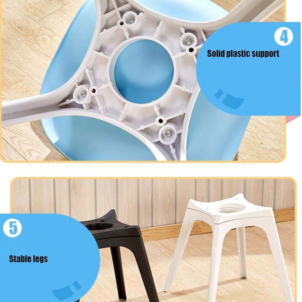 Robuste Simple chaise bureau étudiant et chaise de maquillage tabouret retour à la maison à manger chaise d'ordinateur Spacieux (Color : Red) Brown