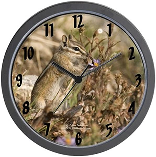 CafePress Baby Chipmunk Wall Clock Unique Decorative 10 Wall Clock