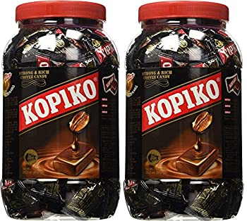 Kopiko Coffee Candy in Jar 800g/28.2oz  Pack of 2