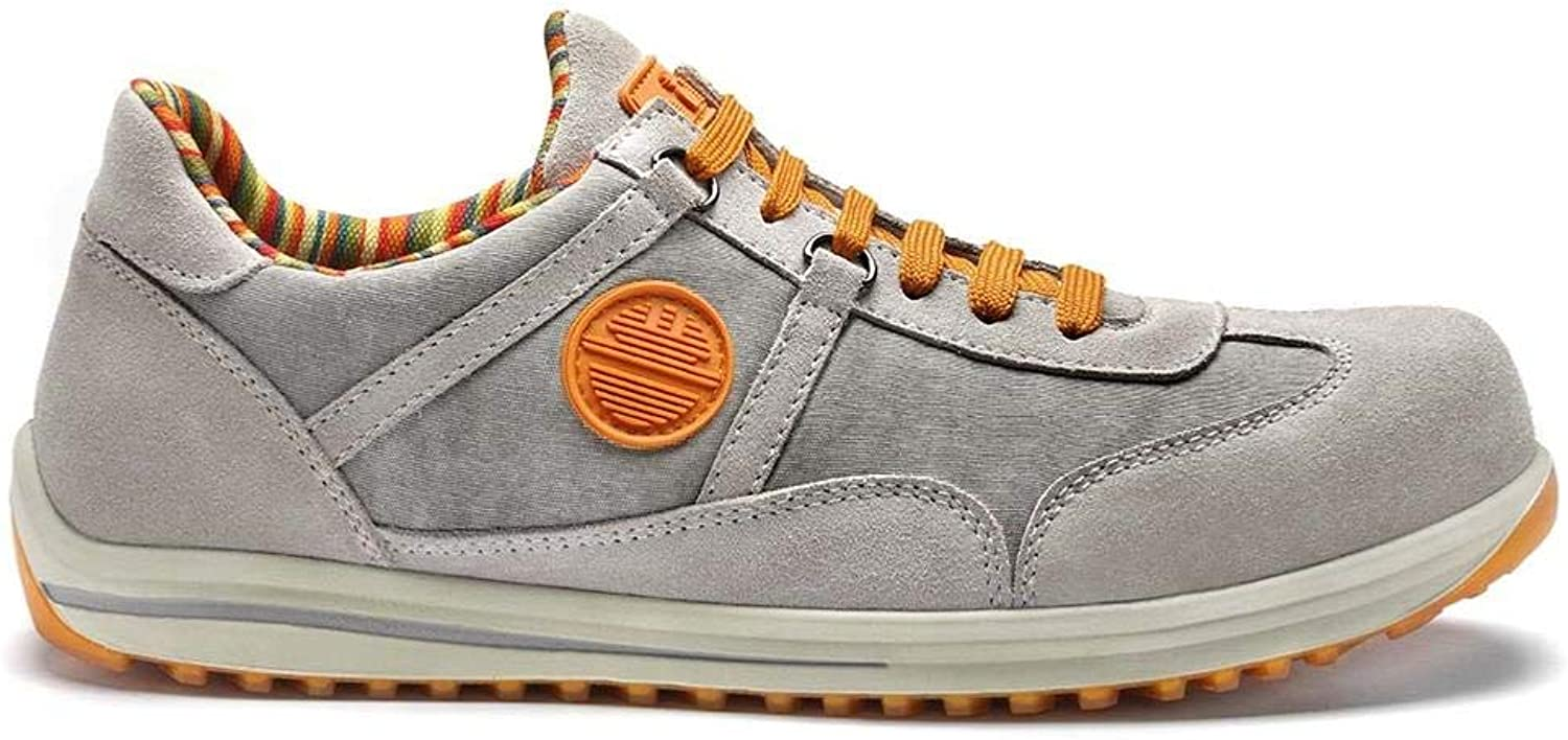 Raving Racy S1P SRC Safety shoes by Dike Light Grey Size 12