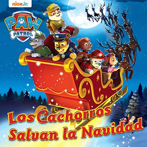 Diseño de la portada del título ¡Los Cachorros Salvan la Navidad!