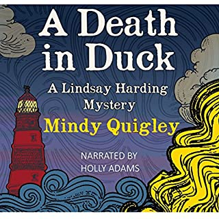A Death in Duck audiobook cover art