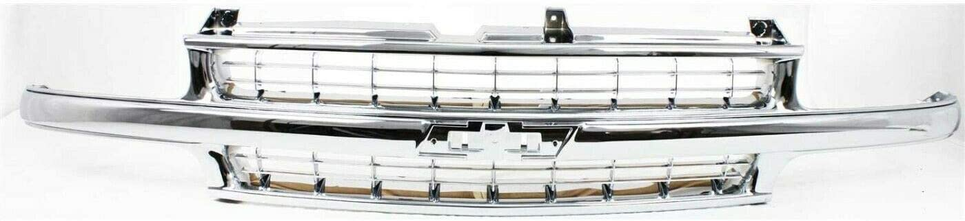 Industry No. Challenge the lowest price of Japan 1 VioletLisa New Replacements Grille Chrome Plasti Compatible with