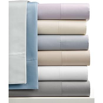 4 juegos de sábanas de satén de algodón de 250 hilos/cm², 100% algodón peinado, de 3 piezas (sábana encimera de 230 x 260 cm + 2 fundas de almohada de 50 x 76 cm), varios colores disponibles: Amazon.es: Hogar