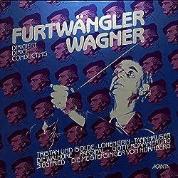 Wilhelm Furtwangler dirigiert Opern von Richard Wagner(1983 GERMANY ACANTA,5LPBOX 40.2352)[フルトヴェングラー][LP盤]