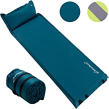 Self Inflating Sleeping Pad for Camping - Lightweight Camping Pad, Inflatable Camping Mattress Pad, Insulated Foam Sleeping Mat for Backpacking, Tent, Hammock