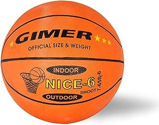GIMER 7/650/6, balón Baloncesto Mujer, Naranja, Circunferencia: 72 ...