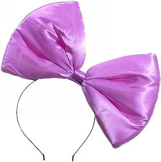 Mwfus Sweet Women Girls Big Bow Headband Hair Accessory Fancy Dress Hairband Hair Hoop