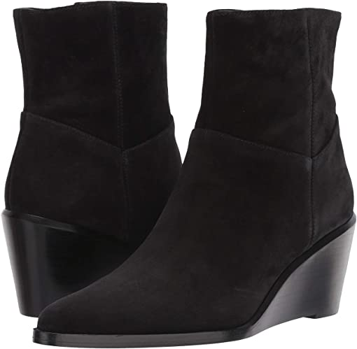 Black Florence Suede