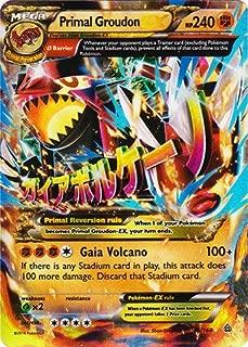 Pokemon - Primal Groudon-EX (86/160) - XY Primal Clash - Holo