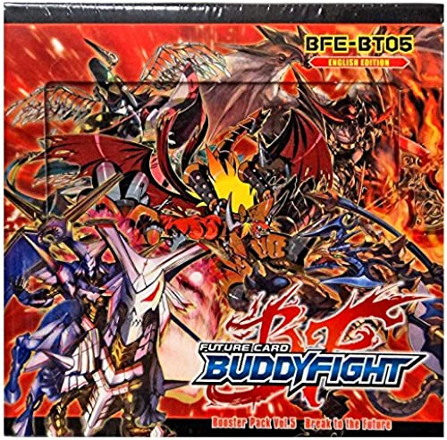 Buddyfight BFE-BT05 - Break to The Future Display, Booster Volume 5, 30 Packs , Kartenspiele