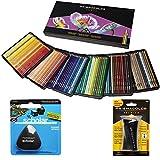 Prismacolor - Caja de 150 lápices de colores, con goma triangular y sacapuntas