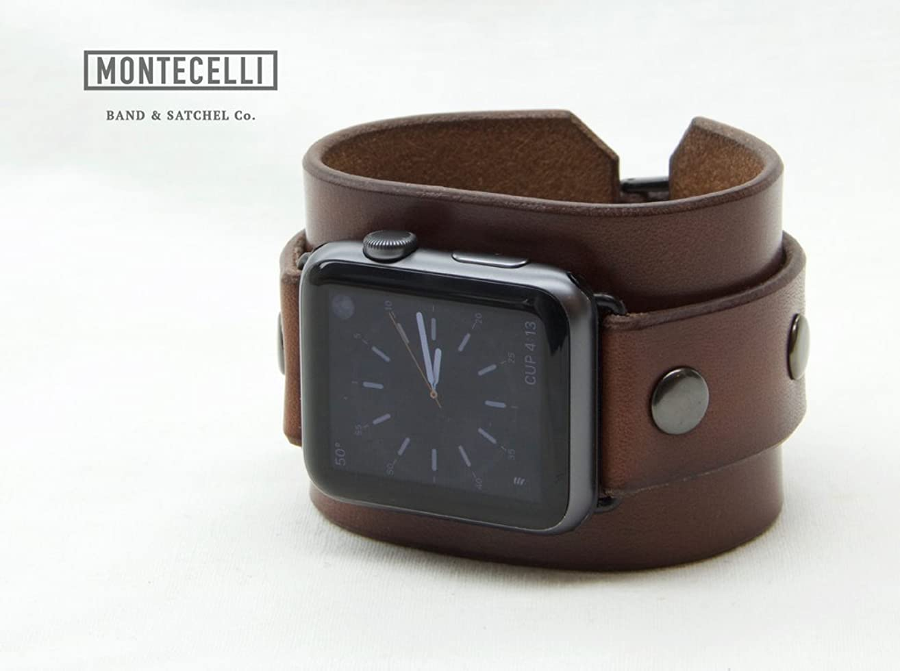 Venture Brown (Tailored Fit) Cuff Band for Apple Watch