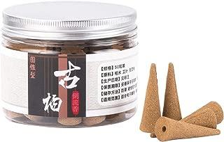 流川香 善本堂手作り 純天然逆流香 観賞用 でプレゼント包装 円錐形50粒