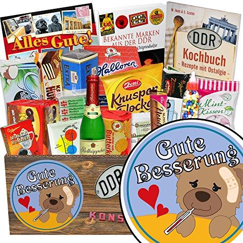 Gute Besserung / Ost-Süßigkeiten für Männer / Geschenk Frauen Gute Besserung