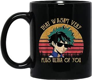 Anime Izuku Midoriya That Wasn't Very Plus Ultra Of You My Hero Academia Mug