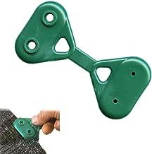 Rete ombreggiante per Sport Verde Scuro, 1,2 m x 25 m Rete Metallica Recinzione Giardino NAIZY Parasole da Tennis Protezione Antivento