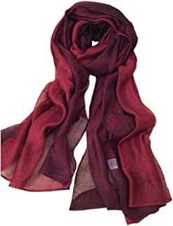 Best lightweight burgundy scarf Reviews