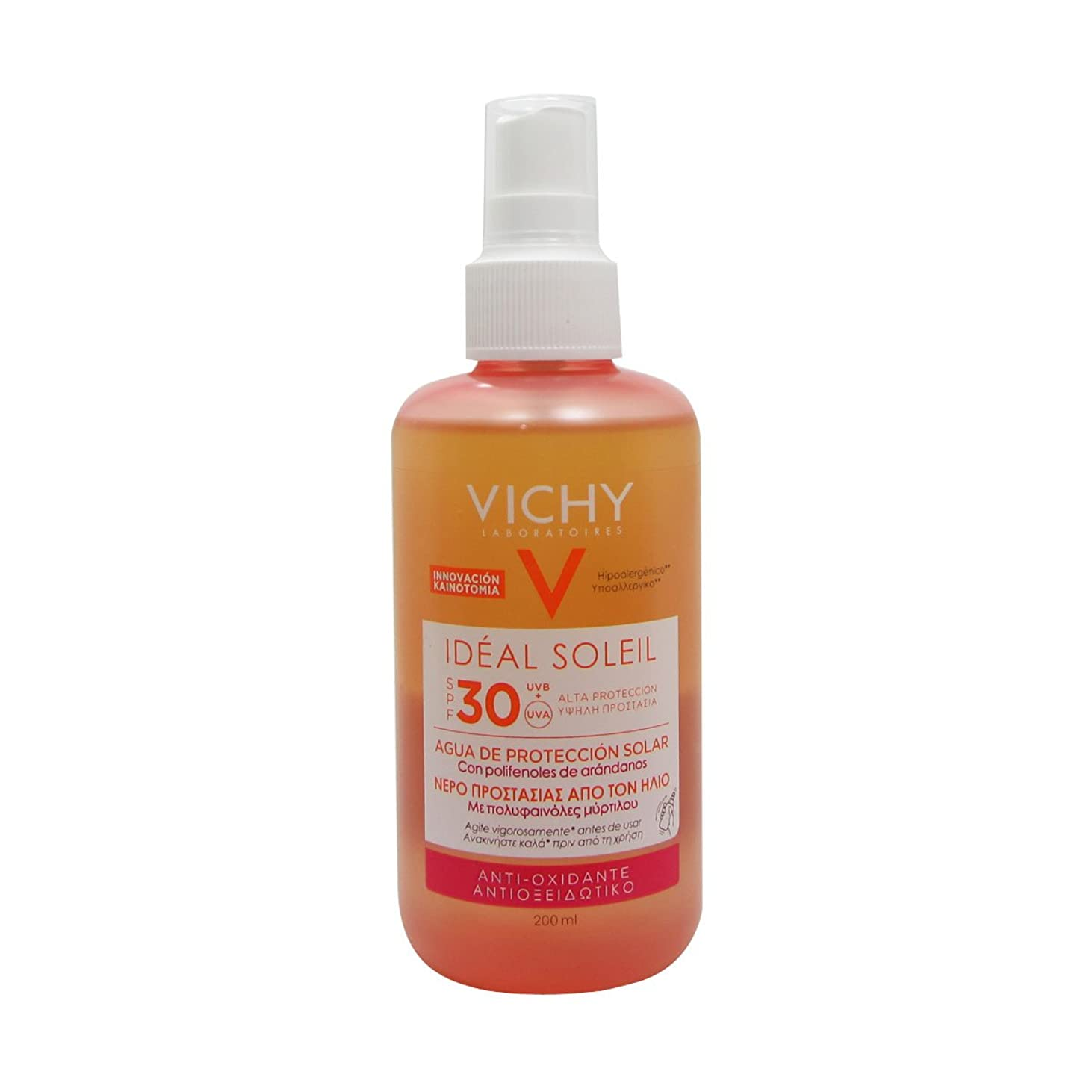 シャイ抽出推進力Vichy Ideal Soleil Fresh Water Sun Protection Spf30 200ml [並行輸入品]