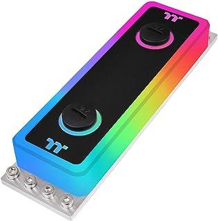Thermaltake A1 TT RGB Plus/Alexa/Razer Chroma/5V Motherboard Syncable RGB DDR3/DDR4 Water Block CL-W239-CA00SW-A, Black