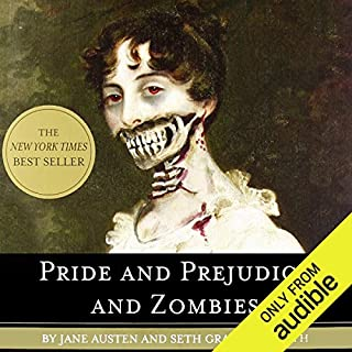 Pride And Prejudice Zombies Audiobook Cover Art