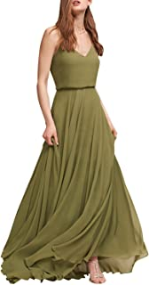 Best long olive green prom dress Reviews