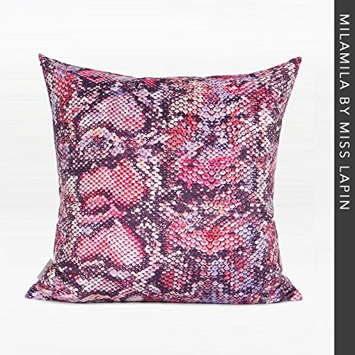 Vaevanhome Durch Die Tasche Kissen Kissen Stücke Von Roten Gradienten Gefilzt Tuch Gedruckt Quadratischen Kissen