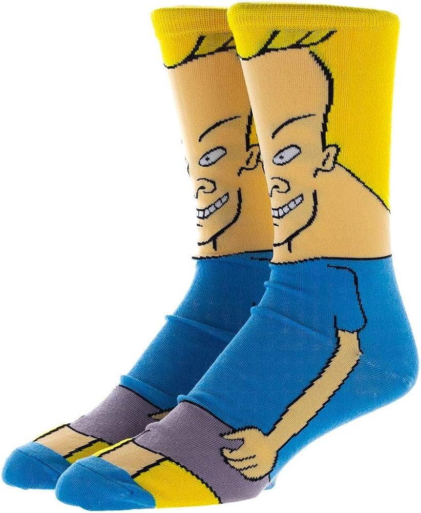 Beavis 360 Character Mens Crew Socks