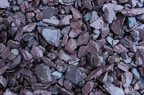RockinNature Plum Slate 15kg decorative garden stone