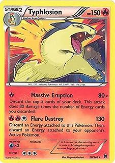 Pokemon - Typhlosion (20/162) - XY Breakthrough - Holo
