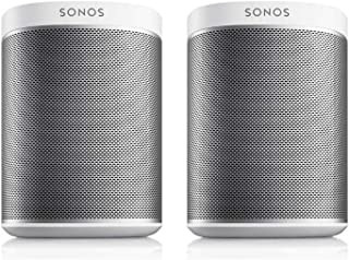 Best Sonos PLAY:1 2-Room Wireless Smart Speakers for Streaming Music - Starter Set Bundle (White) Review