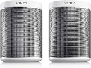 Sonos PLAY:1 2-Room Wireless Smart Speakers for Streaming Music - Starter Set Bundle (White)