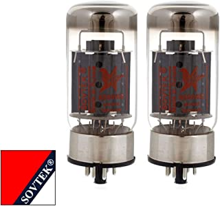 Brand New Plate Current Matched Pair (2) Sovtek 6550WE Vacuum Tubes