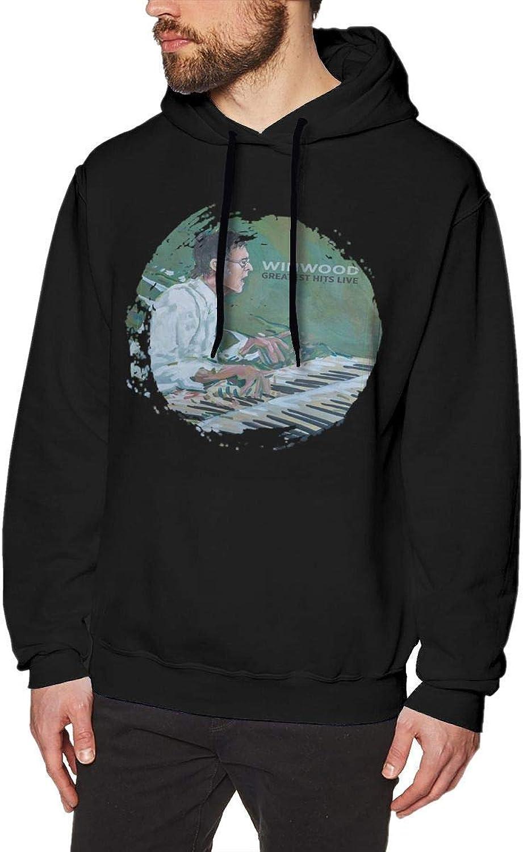 Steve Winwood Winwood Greatest Hits Live Men's Hoodies Sweater Black