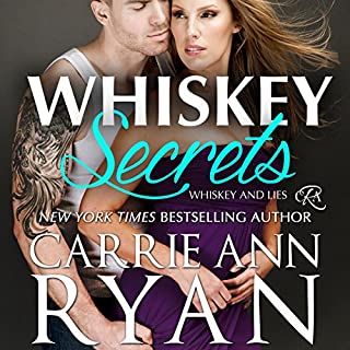 Whiskey Secrets     Whiskey and Lies Book 1              By:                                                                                                                                 Carrie Ann Ryan                               Narrated by:                                                                                                                                 Gregory Salinas                      Length: 5 hrs and 19 mins     43 ratings     Overall 4.6