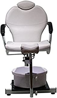 Funnylife Pedicure Station White Hydraulic Spa Chair &Foot Classic Salon Massage Equipment