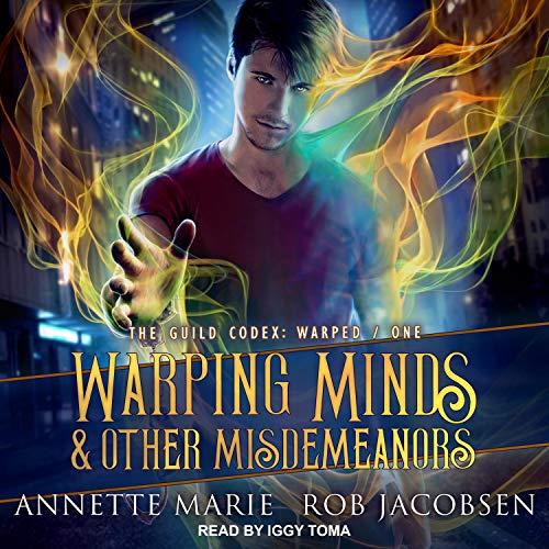 Page de couverture de Warping Minds & Other Misdemeanors