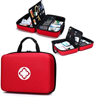 Portable Waterproof First aid kit,Multipurpose First Aid Kit Drug Packing,Lightweight First Aid Bag for Home,Community,Tra...