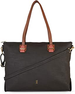 Baggit Autumn/Winter 2020 Faux Leather Women's Tote Handbag (Brown) (Snobby)
