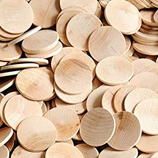 """200 Wooden Circles 1-1/2"""" Diameter x 1/8"""" Thick - By Woodpeckers"""