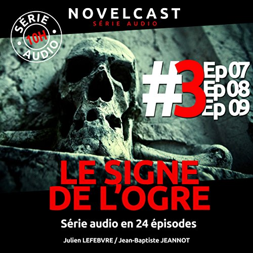 Le signe de l'ogre 3 audiobook cover art