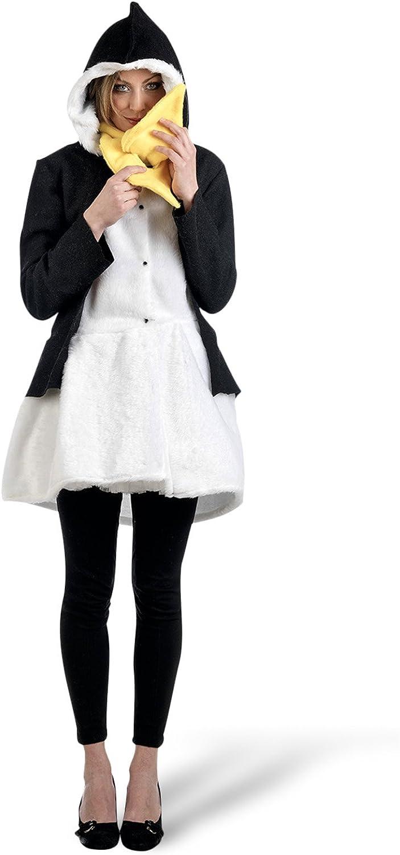 promocionales de incentivo Limit Sport - Disfraz abrigo abrigo abrigo y bufanda de pingüino para adultos, talla S (MA685)  tomamos a los clientes como nuestro dios