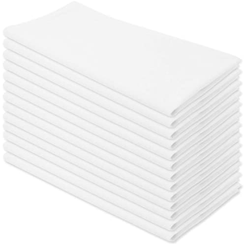 White Dish Towels Amazon Com