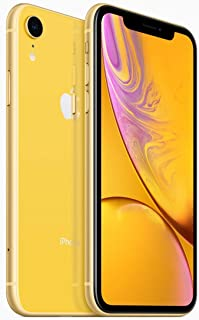 Apple iPhone XR Dual SIM With Face Time - 64GB, 4G LTE, Yellow